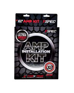 T-Spec V12-4PK Universal Power & Ground 4 Gauge V12 Series Amplifier Installation Kit