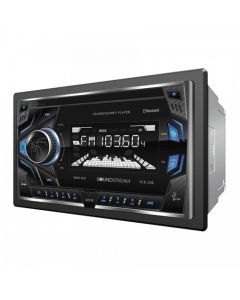 Soundstream VCD-22B Double-DIN In-Dash CD Receiver with USB and Bluetooth