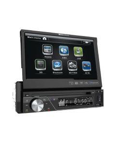 "Soundstream VIR-7830B 7"" Single DIN Flip Up DVD Receiver with Bluetooth"