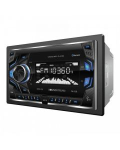 Soundstream VM-22B Double-DIN In-Dash Digital Media Receiver with USB and Bluetooth