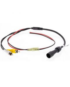 Voyager 31300006 Commercial Grade Back Up Camera RCA Adapter Harness