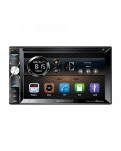"""Soundstream VR-620B 6.2"""" Double DIN DVD Receiver with Bluetooth"""