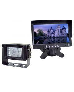 RV Back Up System - Boyo  VTM7000 7 inch LCD Monitor with Stand plus Boyo VTB301 Camera w Mic, IR, Night Vision