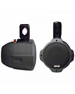 "Pyle PLMRB65 Two-Way Wake Board Speaker - Black 6.5"", 200-Watts"