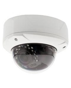 "Safesight TOP-SS-WDC20SNHD 1/3"" 2.1 Megapixel 1080p HD-SDI Panasonic Dome CCTV camera - Front left view"