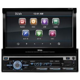 BOSS BV9977 Single DIN 7 inch Receiver for VehiclesQuality Mobile Video