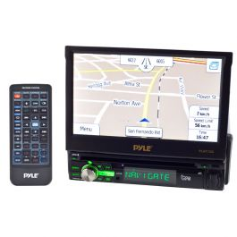 Pyle PLBT72G Single DIN 7 Inch Wide IN-Dash TFT & LCD Touch Screen Monitor  with Bluetooth & GPS for Vehicles | Pyle Plbt72g Wiring Harness |  | Quality Mobile Video