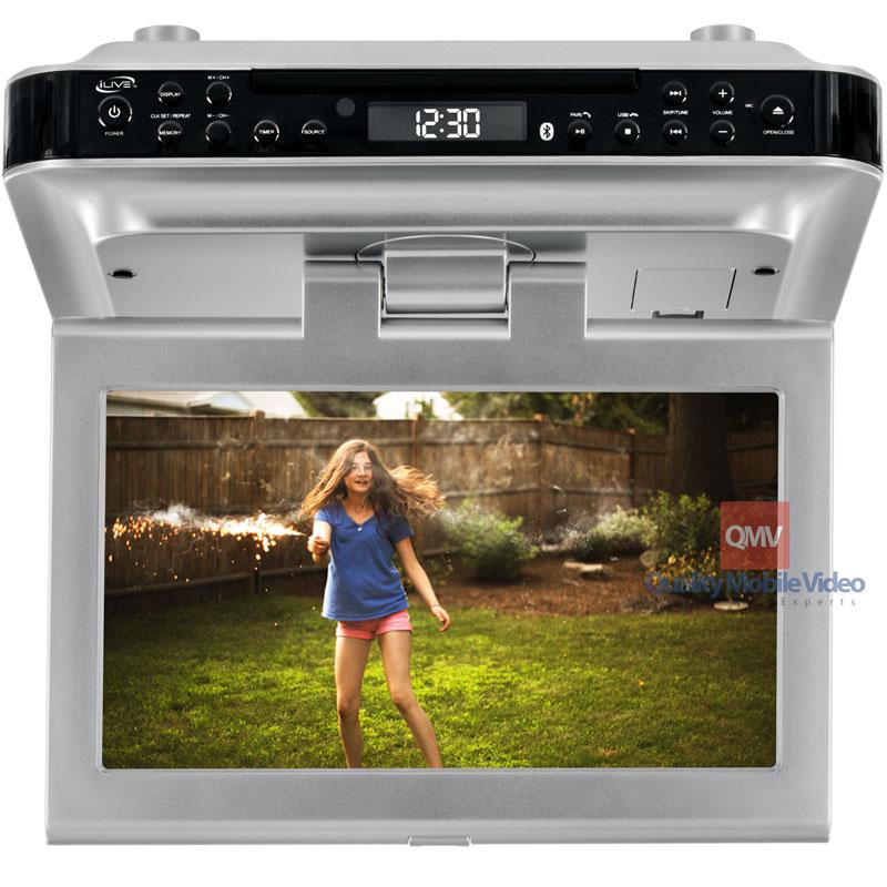 """Kitchen Tv Cabinet: ILive IKTD1016S 10"""" Under-Cabinet Kitchen Television With DVD"""