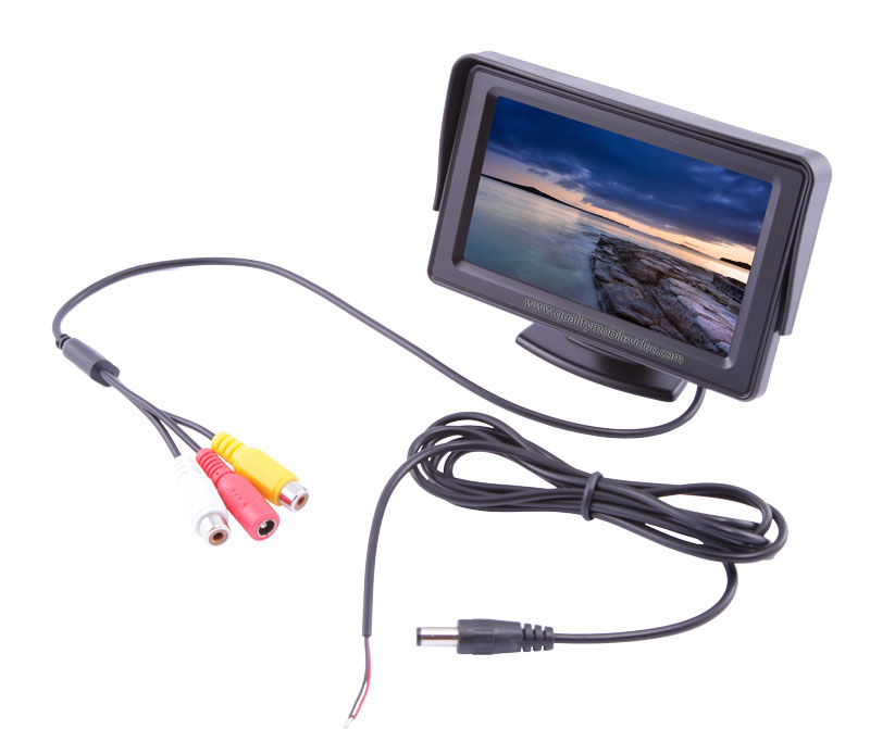 Universal car LCD monitors