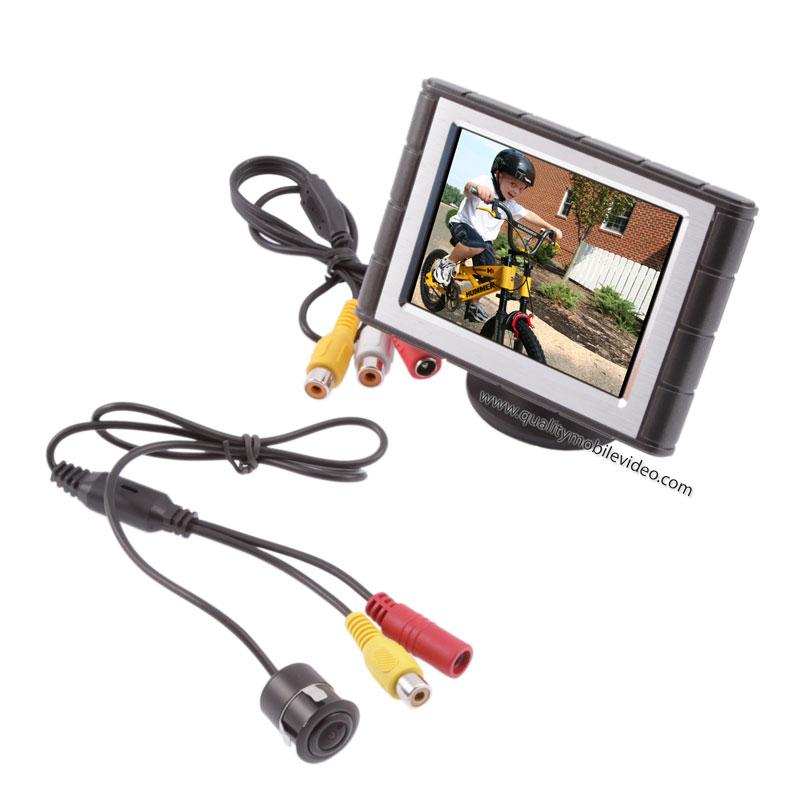 Safesight SC0302-SC3102 3.5 inch reverse back up camera system