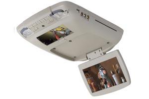 Center and Overhead Console Monitors