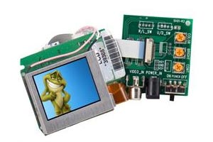 Raw LCD Monitors