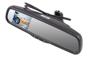 Rear View Mirror LCD Monitor