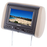 Headrest Monitors and DVD Headrests