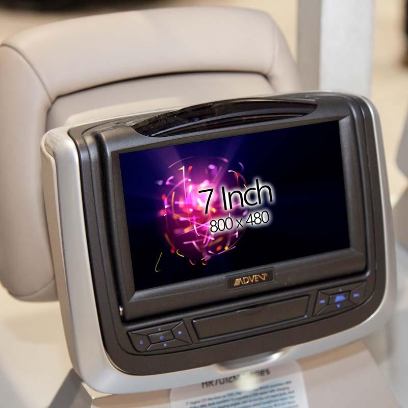 Audiovox HR7012 7 inch DVD Active Headrest Monitor system