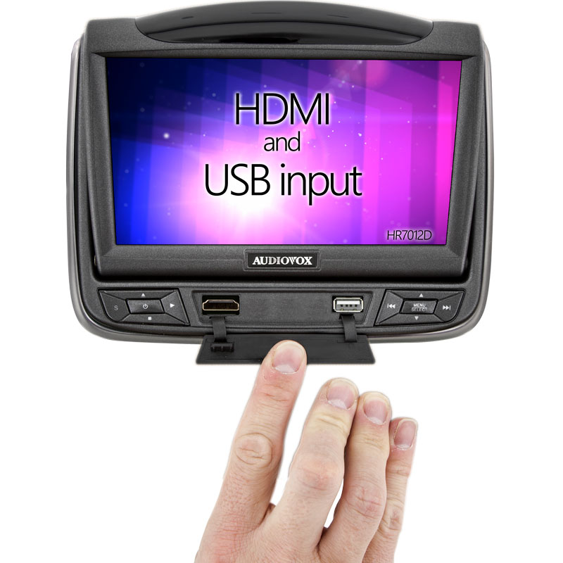 HR7012D - USB input and Front HDMI input