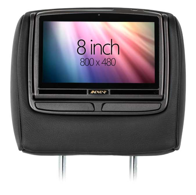 Audiovox HR8 8 inch DVD Headrest Monitor system